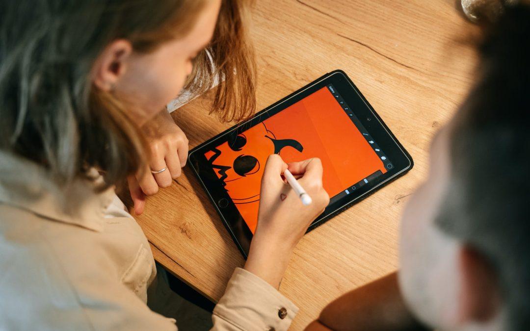 Kresba na iPadu